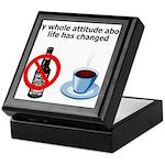 attitude-life-changed Keepsake Box