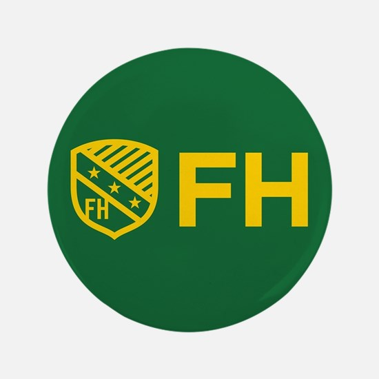 Farmhouse Fraternity Yellow Crest FH Button