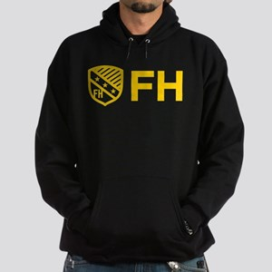 Farmhouse Fraternity Yellow Crest FH Hoodie (dark)