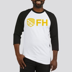 Farmhouse Fraternity Yellow Crest Baseball Jersey