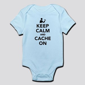 Keep calm and cache on Body Suit