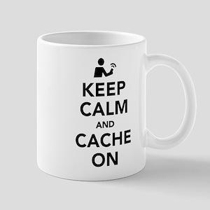 Keep calm and cache on Mugs
