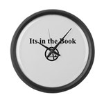 Its in the book Large Wall Clock