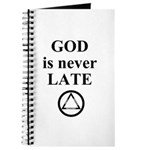 God is never late Journal