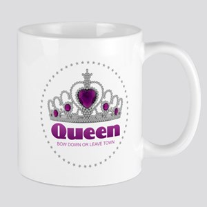 Bow Down or Leave Town Mugs