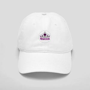 05106cfb605 Crown Purple Black Royal Princess King Queen Princ Hats - CafePress