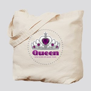 Bow Down or Leave Town Tote Bag