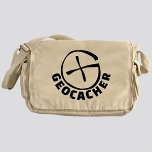 Geocacher Messenger Bag