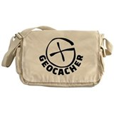 Geocaching Canvas Messenger Bags