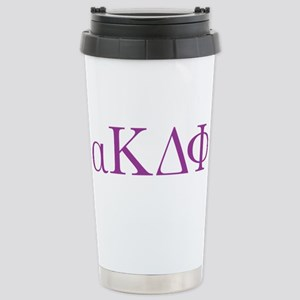 Alpha Kappa Delta Phi L Stainless Steel Travel Mug