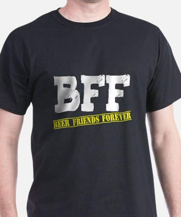 Beer Friends Forever BFFs T-Shirt