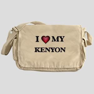 I love Kenyon Messenger Bag