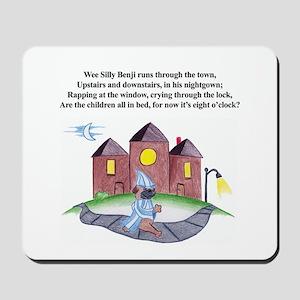 Wee Silly Benji Mousepad