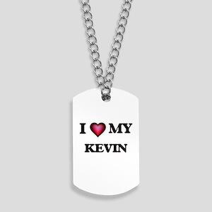 I love Kevin Dog Tags