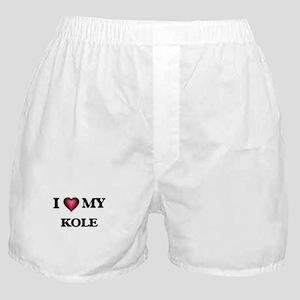 I love Kole Boxer Shorts