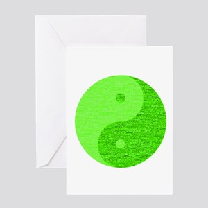 YIN YANG Greeting Cards