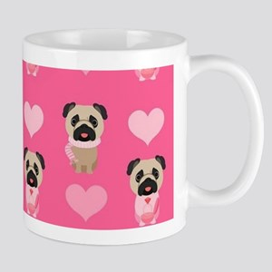 Valentine's Day Pugs Mug