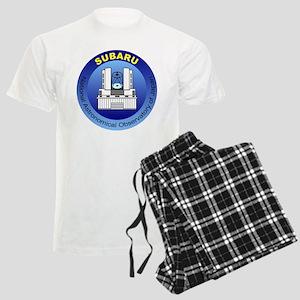 Subaru Telescope Logo Men's Light Pajamas