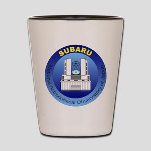Subaru Telescope Logo Shot Glass