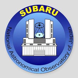 Subaru Telescope Logo Round Car Magnet