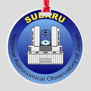 Subaru Telescope Logo Round Ornament