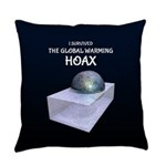 I Survived The Global Warming Hoax Everyday Pillow