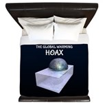 I Survived The Global Warming Hoax King Duvet