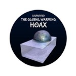 I Survived The Global Warming Hoax Button
