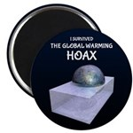 I Survived The Global Warming Hoax Magnets