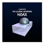 I Survived The Global Warming Hoax Square Car Magn