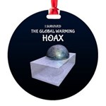 I Survived The Global Warming Hoax Ornament