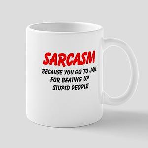 Sarcasm Mugs