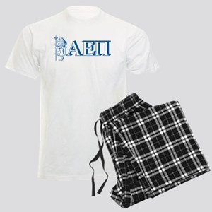 Alpha Epsilon Pi Letters Men's Light Pajamas