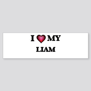 I love Liam Bumper Sticker