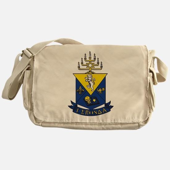 Alpha Epsilon Pi Crest Messenger Bag