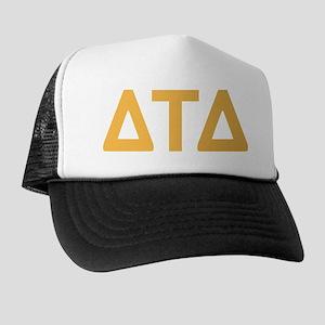 Delta Tau Delta Letters Trucker Hat