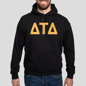 Delta Tau Delta Letters Hoodie (dark)
