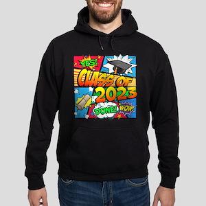Class of 2023 Comic Book Hoodie (dark)