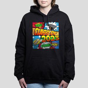 Class of 2023 Comic Book Women's Hooded Sweatshirt
