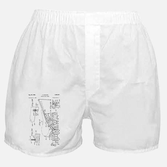 1949 O. Hadwiger Bowling Alley Sander Boxer Shorts