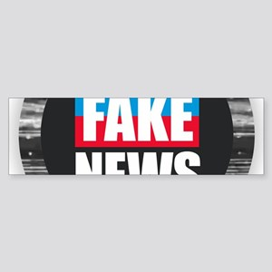 End Fake News Bumper Sticker