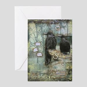 """""""Feels Like Rain"""" Card Greeting Cards"""