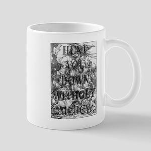 Without Mercy Mugs
