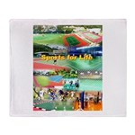 Sports for Life Throw Blanket