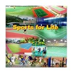 Sports for Life Tile Coaster