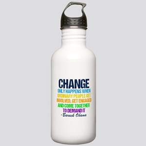 Obama Farewell Stainless Water Bottle 1.0L