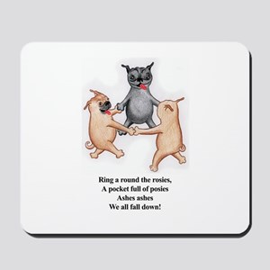Ring Around The Rosie Mousepad