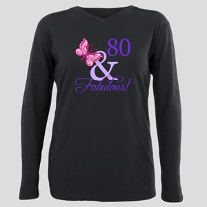 80th Birthday Butterfly T-Shirt
