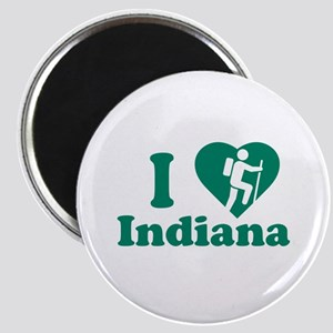 Love Hiking Indiana Magnet