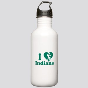 Love Hiking Indiana Stainless Water Bottle 1.0L